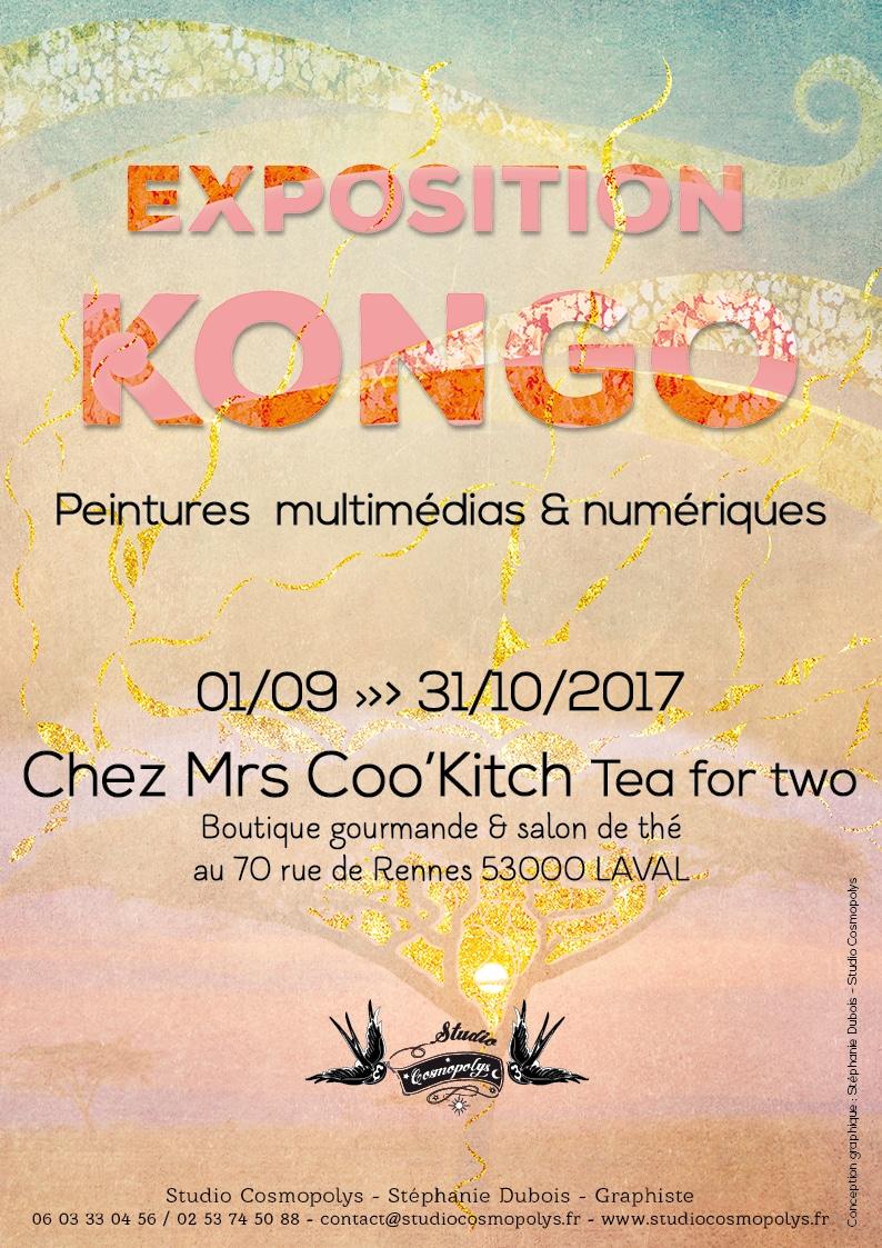 Affiche exposition Kongo